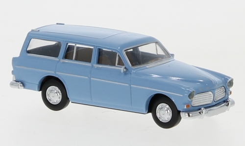 Brekina 29262 - Volvo Amazon break, bleu pastel
