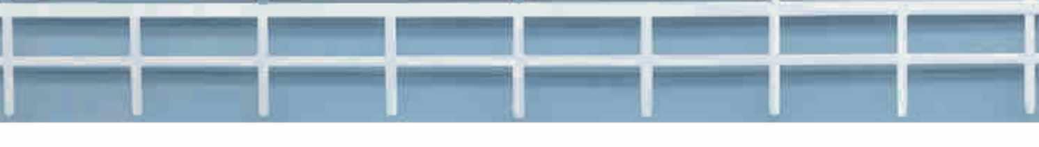 SAI Maquettes Barrieres blanches  Longueur 160 cm SAI 510 échelle HO